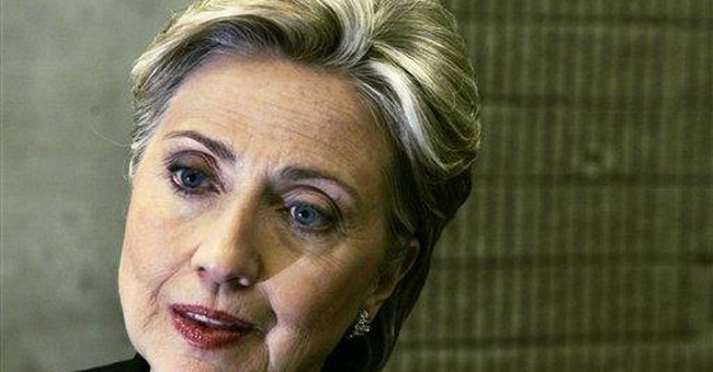 Hillary Rodham Clinton:  A Pillar Of Female Achievement?  Really??